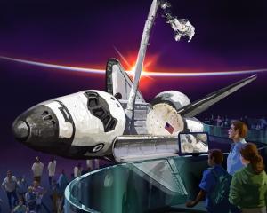 Atlantis é atração no Cabo Canaveral