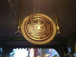 Starbucks chega ao Magic Kingdom