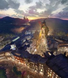 O Mundo Mágico de Harry Potter – Beco Diagonal