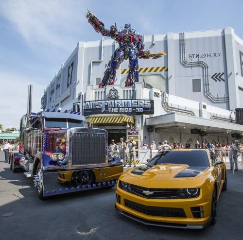 Batalha começou! Transformers The Ride – 3D  OrlandObservador