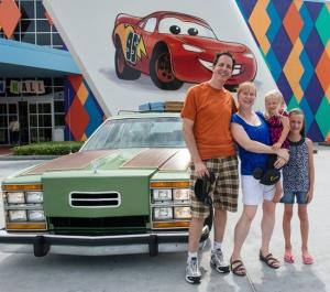 Os Griswolds da vida real se divertem na Disney