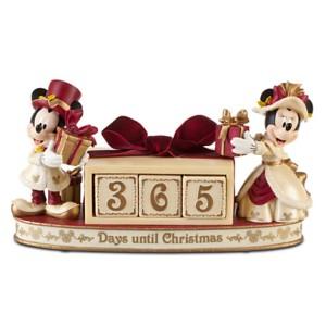 Mickey e Minnie contando os dias Foto: Disney Store