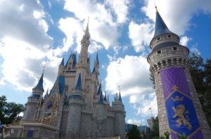 Cinderella Castle's New Spires Begin Unveiling