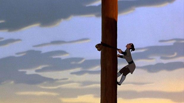 Mulan-Climbing-the-Pole