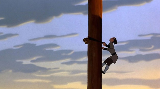 Mulan-Climbing-the-Pole