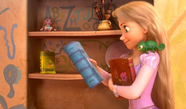 Rapunzel-with-books